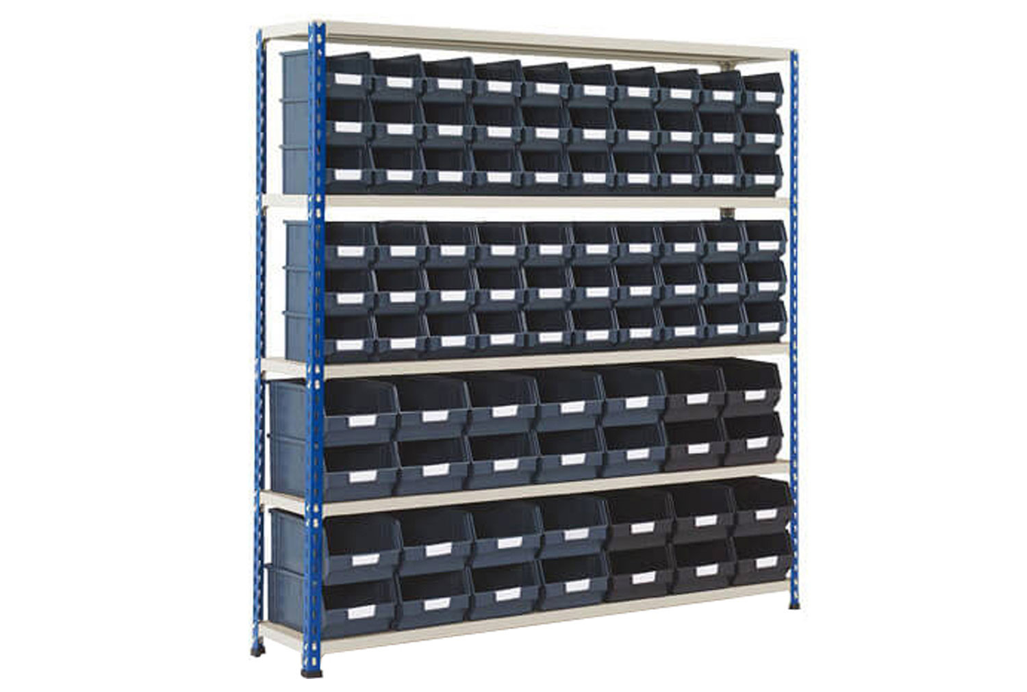 Rapid 2 shelving bay with 88 picking bins