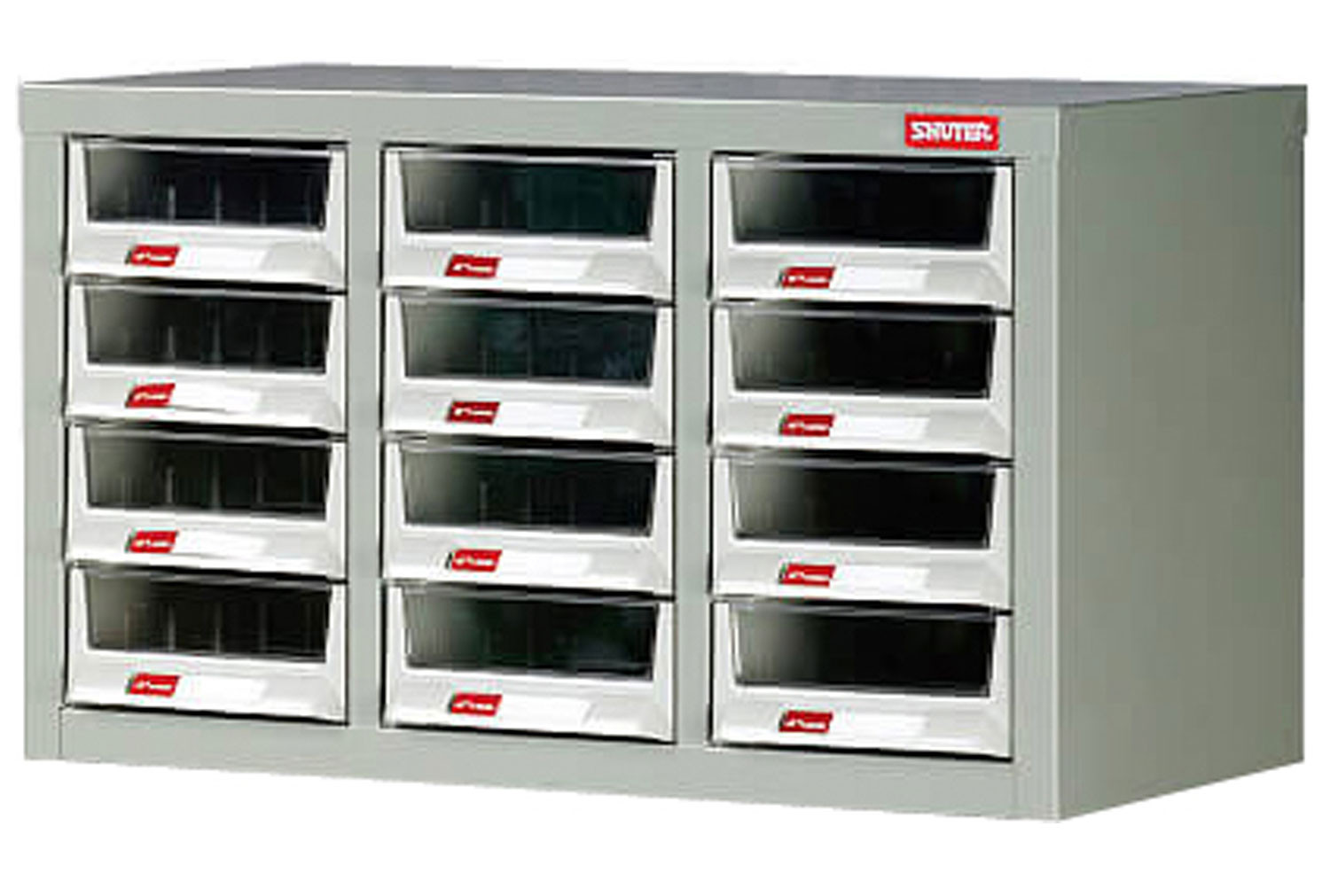 12 drawer small parts cabinet