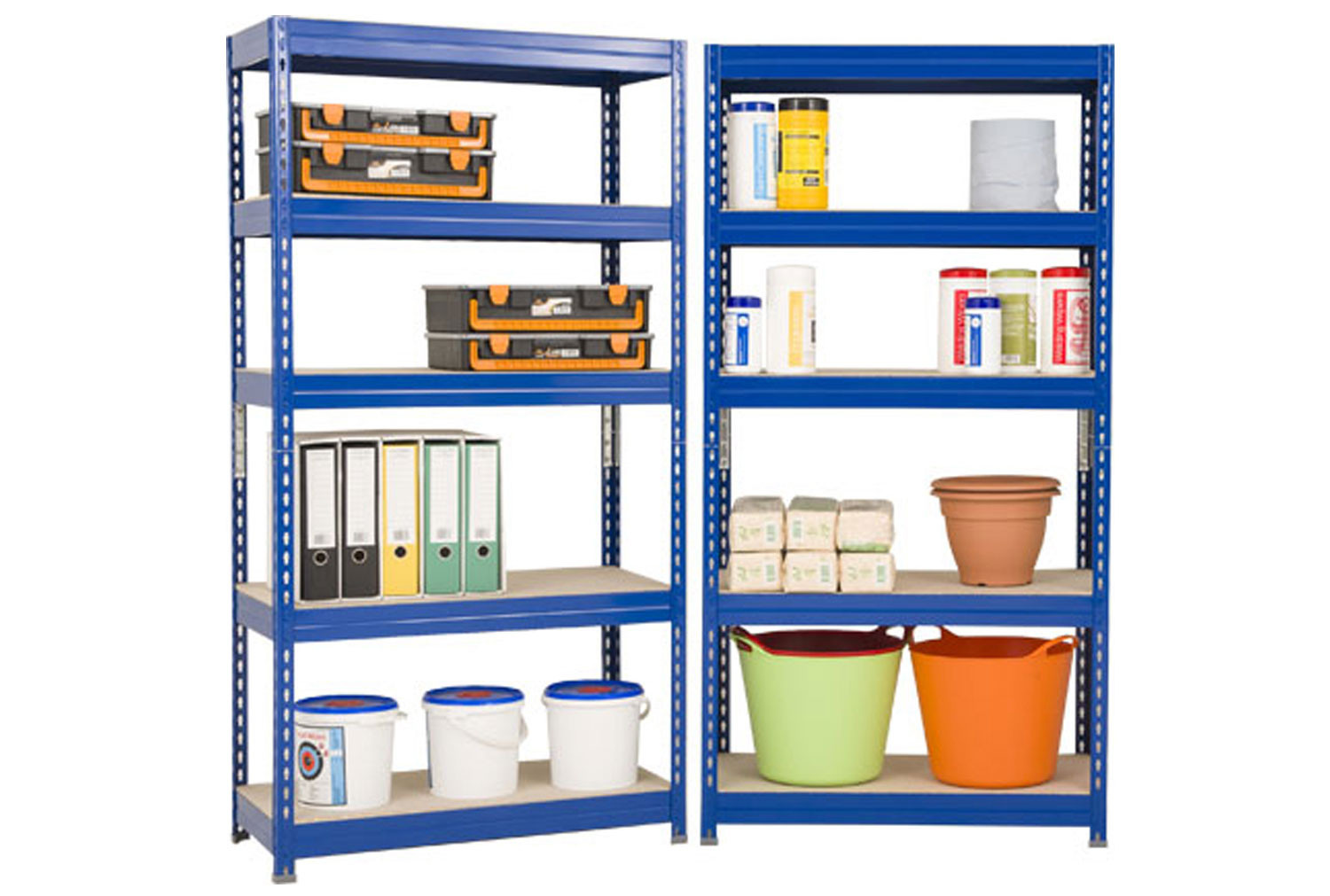 Budget shelving 2 bay bundle deal