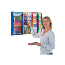 Panorama leaflet dispenser