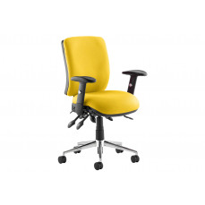 Praktikos medium back posture operator chair