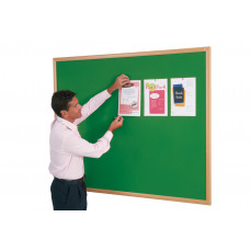 Eco friendly noticeboard