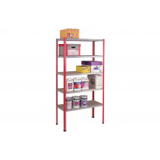 Premium 5 tier boltless shelving