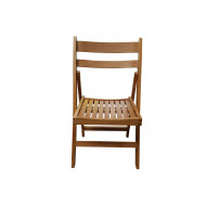 Pack Of 4 Corrigan Wooden Folding Chairs