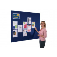 Felt Frameless Noticeboard