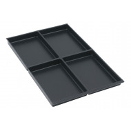 Pack Of 5 A4 Insert Trays For Bisley Multidrawers (22h)
