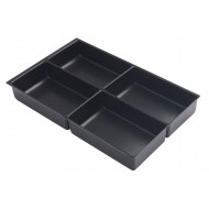 Pack Of 5 A4 Insert Trays For Bisley Multidrawers (51h)