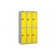 Probe Autumn Colour 2 Door Locker Nest Of 3