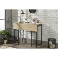 Bannock Industrial Bench Desk With Extension