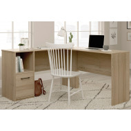 Calerio L-Shaped Home Office Desk