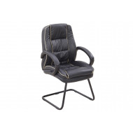 Ranna Leather Faced Visitor Chair