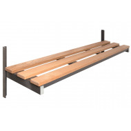 QMP Wall Mounted Bench