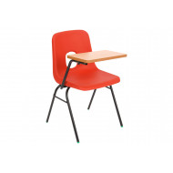 Hille E Series Chair With Writing Tablet