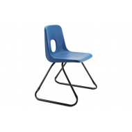 Hille E Series Skid Base Chair