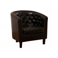 Murphy Leather Tub Chair
