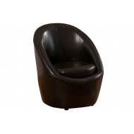 Peters Leather Egg Chair