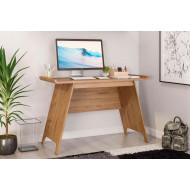 Ewing Trestle Home Office Desk (Oak)