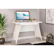 Ewing Trestle Home Office Desk (White)