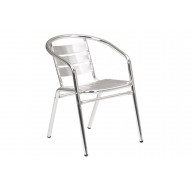 Pack Of 4 Rio Aluminium Bistro Armchairs
