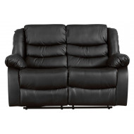 Buet Leather 2 Seater Recliner Sofa