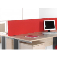 Fabric Rectangular Desktop Screens