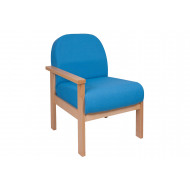 Brito Reception Chair With Right Hand Arm