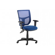 Gordy Colour Mesh Back Operator Chair (Adjustable Arms)