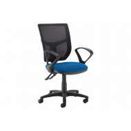Gordy Mesh Back Operator Chair (Fixed Arms)