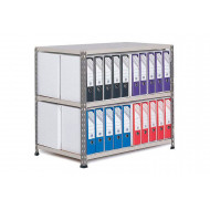 Rapid 2 Double Sided Lever Arch Storage Unit For 40 A4 Files