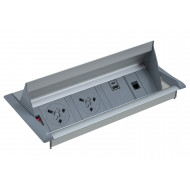 Brook Flip Top Power Module For Boardroom Tables