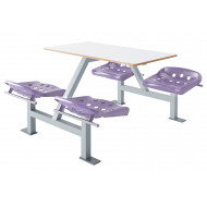 Hille Apero Fast Food Unit Without Back