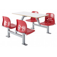 Hille Apero Fast Food Unit With Back