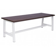 Cinder Bench Dining Table