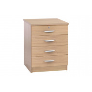 Small Office 4 Drawer Chest