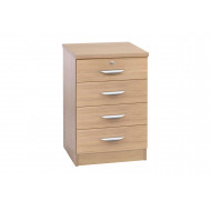 Small Office 4 Drawer Unit