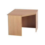 Small Office Corner Desk (Classic Oak)