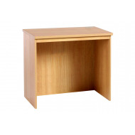 Small Office Rectangular Desk (Classic Oak)