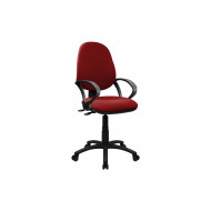 Mineo 2 Lever Operator Chair With Fixed Arms