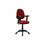 Mineo 2 Lever Operator Chair With Adjustable Arms