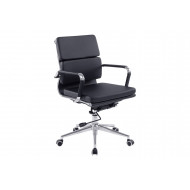 Galvin Bonded Leather Executive Chair