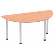 Vitali Semi Circular Meeting Table (Tubular Legs)