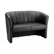 Zola Leather Twin Tub Sofa