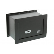 Burg Wachter Pointsafe PW 1 S Wall Safe With Key Lock (3.5ltrs)