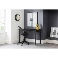 Cather Home Office Black Desk and Black Chair Bundle Deal