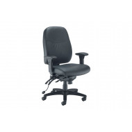 Rocha Leather Look 24HR Operator Chair