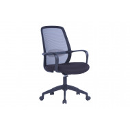 Kira Mesh Operator Chair With Black Frame