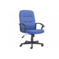 Next-Day York High Back Fabric Executive Chair