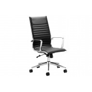 Next-Day Barcelo High Back Leather Faced Executive Chair