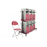 Comfort Folding Chair Bundle Deal (168 Chairs & 1 High Trolley)