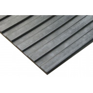 Anti Slip Fluted Rubber Matting (Wide Rib)